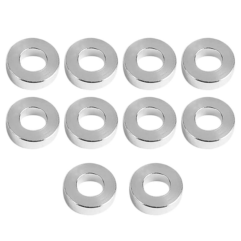 3D Printer Accessories Aluminum Column Flat Gasket Bushings 3mm Aluminum Bushings Aluminum Bars for Openbuilds CNC Build 3D Prin
