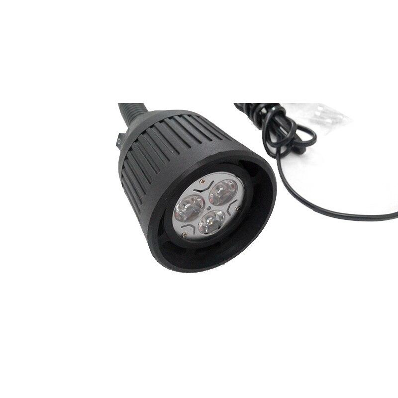 HNTD TD01 3W DC 24V / 36V LED puha rúdfény Közös alap CNC gépi - LED Világítás - Fénykép 6