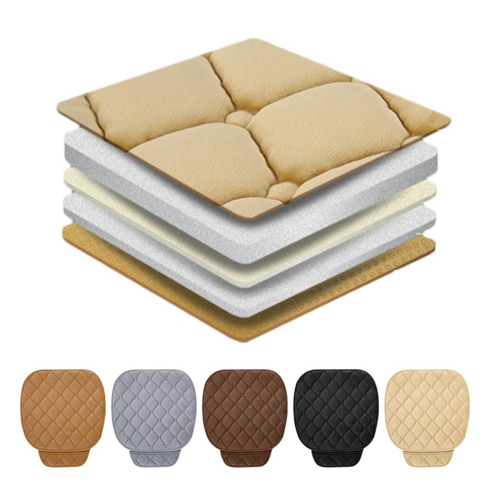 Car Seat Cover Winter Warm Seat Cushion Anti-slip Universal Front Rear Back Chair Seat Pad for Vehicle Auto Car Seat Protector car seat cover winter warm velvet seat cushion universal front rear back chair seat pad for suv vehicle auto car seat protector