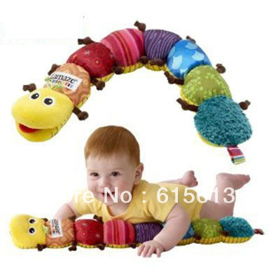 Free Shipping Musical Stuffed Plush Baby Toys - Musical Inchworm - Educational Children Toys Hot Sale ETWJ003