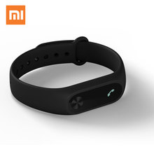 Versi Global Xiaomi Mi Band 2 miband 2 Tracker Kecergasan Track Rate Heart & Monitor Oled Smartband 20days Standby