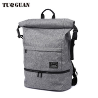 TUGUAN 2017 Men S Waterproof Anti Theft Large Capacity Fashion Travel Business Casual Computer Backpack