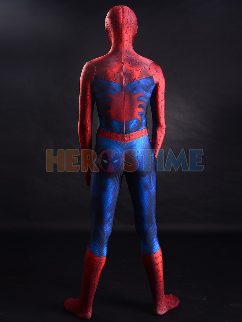 Newest-Classic-Spider-man-costume-3D-Printing-Superhero-Costume-5