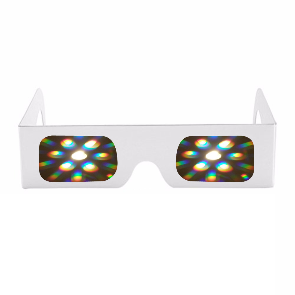 Clever 200 Pcs Premium Starburst Diffraction Glasses Clear Lens 3d Glasses For Raves,music Festivals,light Shows,concerts&fireworks Aromatic Flavor
