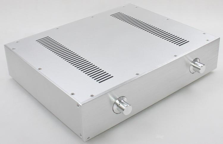 New aluminum amp chassis /home audio amplifier case (343*430*92MM) queenway hifi class pass xa 30 5 hi end full aluminum amplifier chassis case box 430mm 430mm 170mm 430 430 170mm