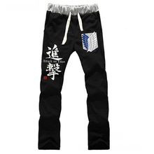 Anime Attack on Titan Freedom wings LOVERS pure cotton pants sports casual trousers cosplay gift NEW Fashion недорго, оригинальная цена