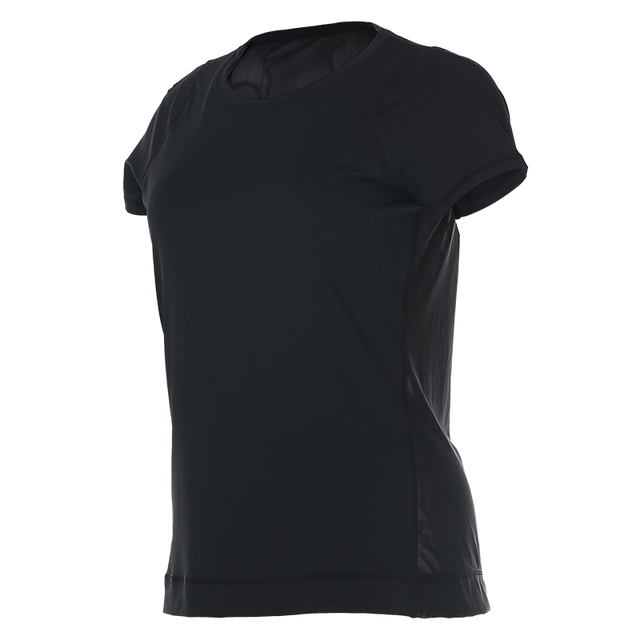 Mesh Sport Shirt Women Yoga Running Fitness Workout Gym Tops Sold Breathable Sportswear Vansydical