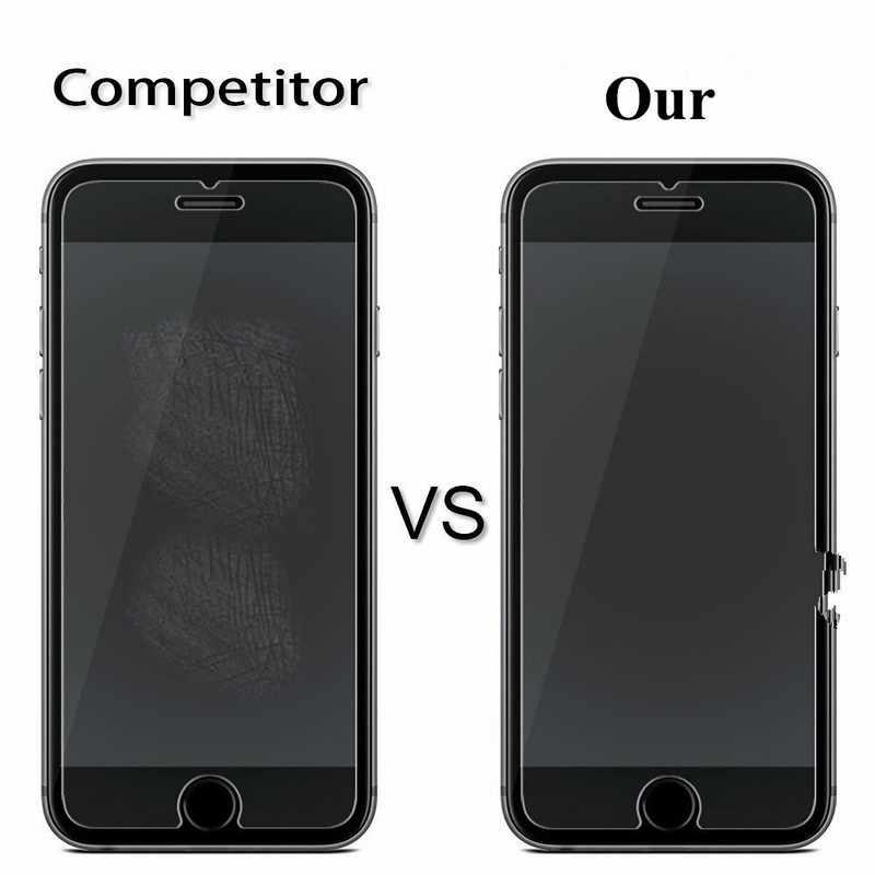 Temperli Cam Ekran Koruyucu Için iPhone 11 Pro X XS Max XR 8 7 Artı 6S 6 5 5S SE Film Koruma verre trempe Ekran Koruyucu