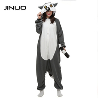 Kigurumi Unicorn Cosplay Pajamas Animal Lemur Charmander Pyjama Men Pajamas One Piece Jumpsuit Pijama Onesies For