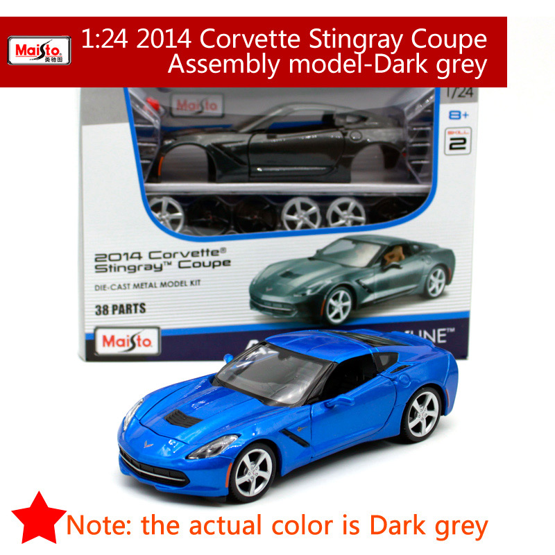CHEVROLET Corvette 2014 Stingray di BBURAGO scala 1:64