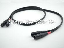 Бесплатная доставка штук аудио Примечание Lexus 42 Litz Чистый медный соединительный кабель XLR