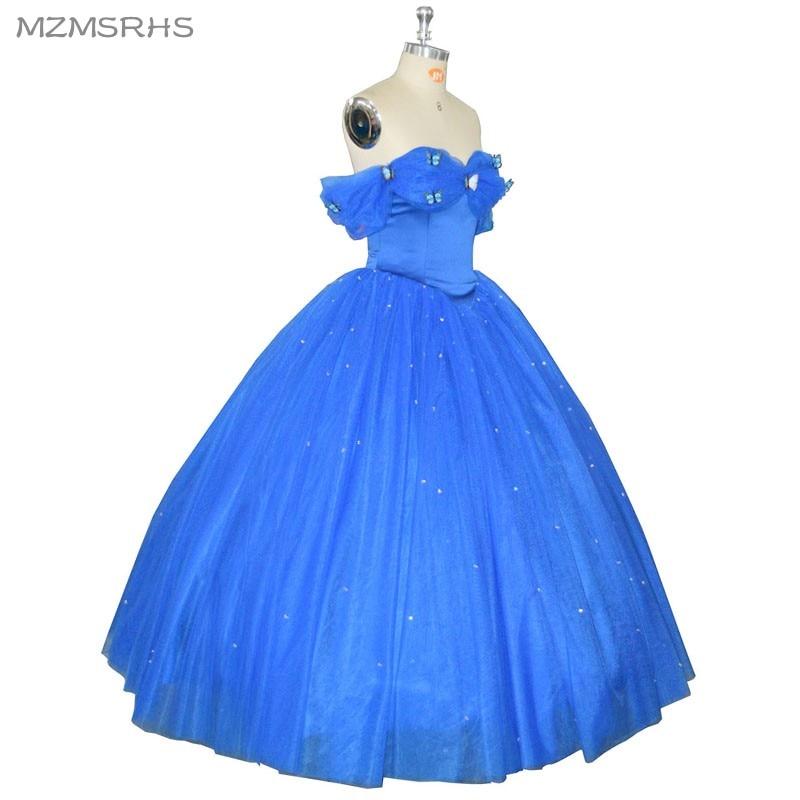 2017 azul vestidos de formatura vestidos de