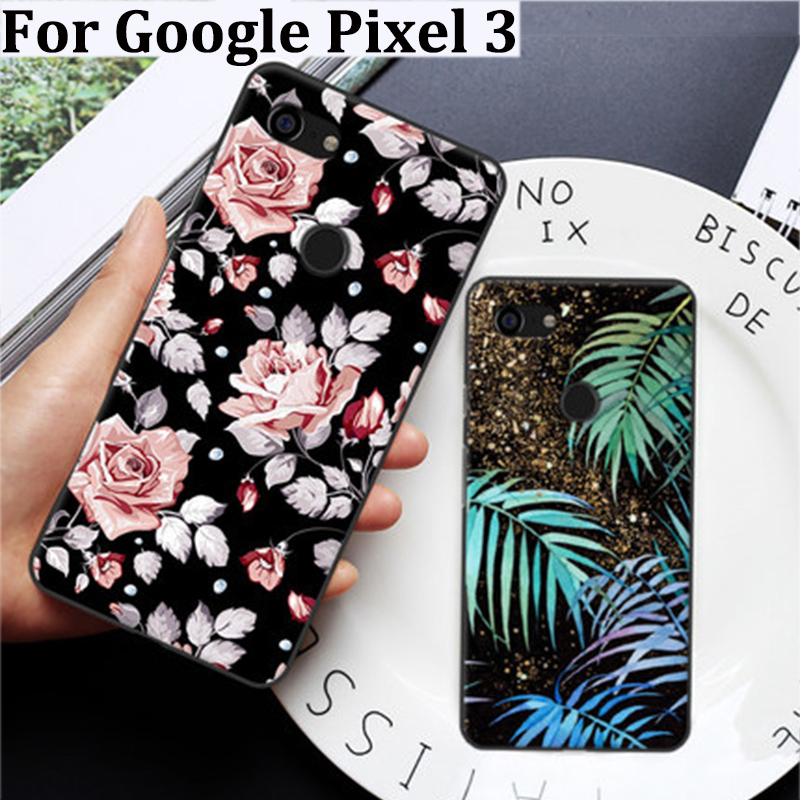 Fundas For Google Pixel 3 Case Cute Cartoon Soft Back Cover For Google Pixel3 Case For Google Pixel 3 Phone Cases Cover Shell