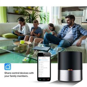 Image 3 - Casa inteligente controle remoto para geeklink app wifi + ir sem fio ios android app siri controle de voz tv ac temporizador controle inteligente