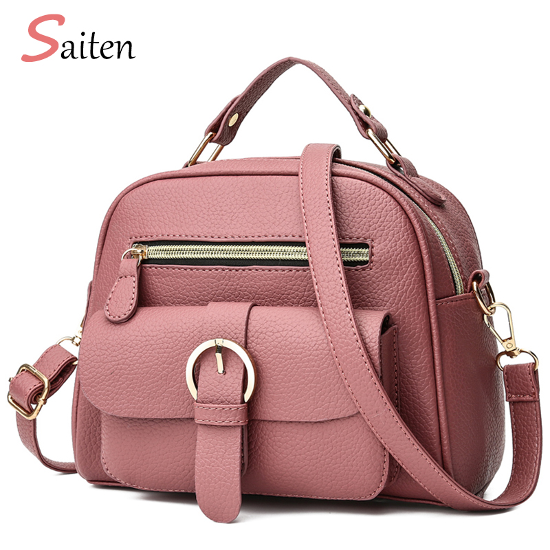 New 2019 Leather Pu Handbag women handbags Litchi Fashion Ladies Shoulder Bags High Quality hand bag woman pink Messenger bag new 2017 leather pu handbag women handbags nubuck fashion ladies shoulder bags high quality printing hand bag woman pink bag