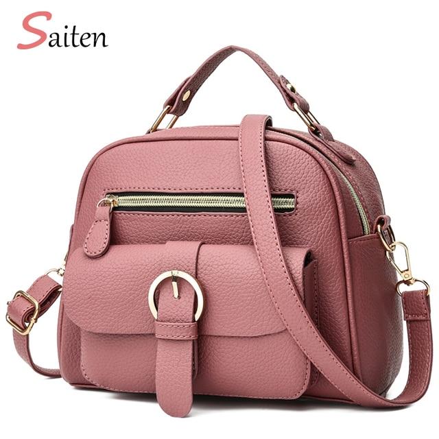 6859a87471836 Nowy 2019 torebka kobiety torebki skórzane Pu liczi moda damska torby na  ramię wysokiej jakości torebka