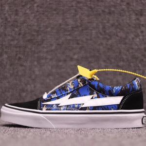 c4d31610f19e Vans Revenge Lightning Skateboard Shoes men Camouflage OLD SKOOL II VOL.1