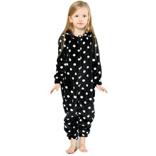 Flannel Long Sleeve Pajamas for Girls