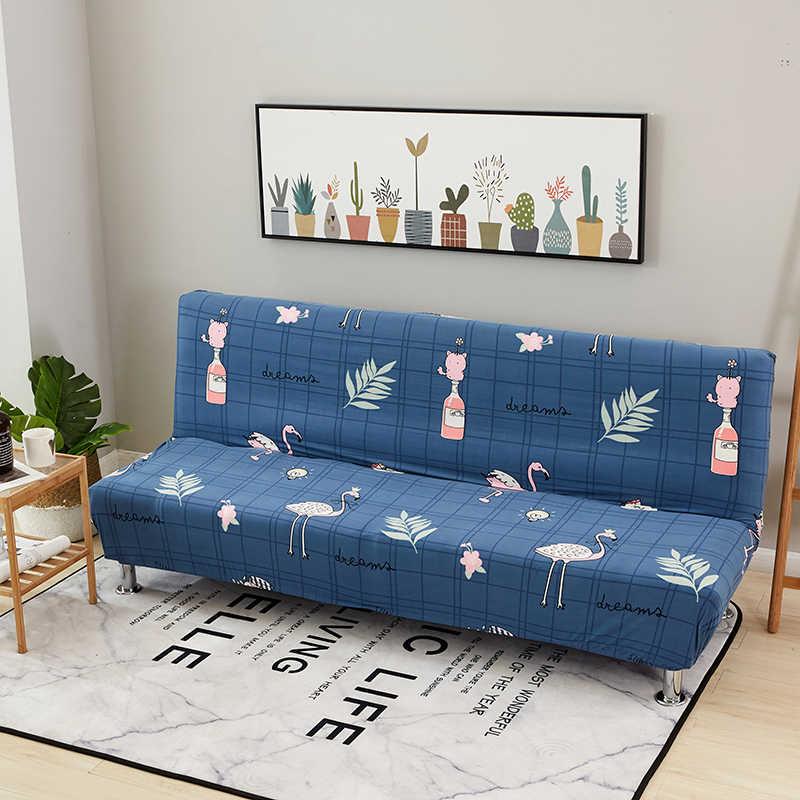 Синий Фламинго все включено чехлы для диванов плотная обертка эластичный диван вытирается полотенцем Slipcover чехол для дивана без подлокотника складной чехол для дивана