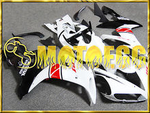 Motoegg Injection Fairing Fit YZF R1 YZF-R1 Motorcycle plastic 2004-2006 & 2005 White Black+Full Tank #M12