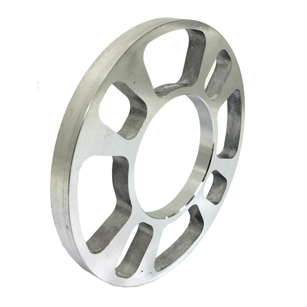 2 Stuks 5/12mm Auto Aluminium Wiel Spacer Pakking Voor 4 Gat Wiel Hub Auto Auto Onderdelen M8617
