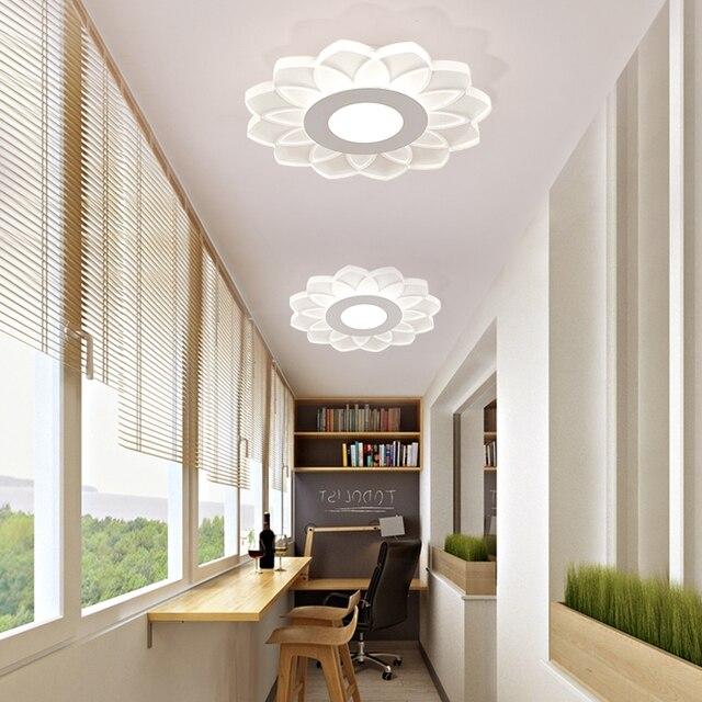 Dormitorio Pasillo Moderno Led Luces De Techo Dia20cm