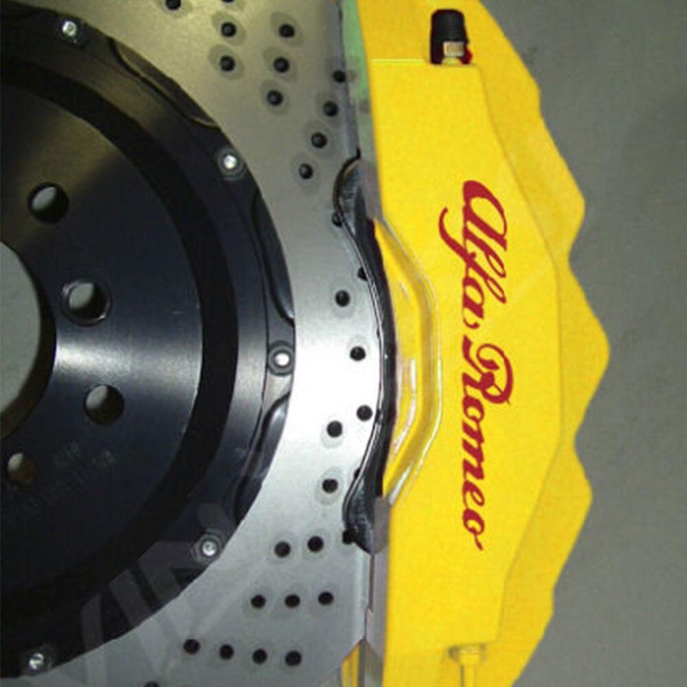 RENAULT HIGH TEMPERATURE CALIPER DECALS Cast Vinyl Brake Caliper Decals Stickers