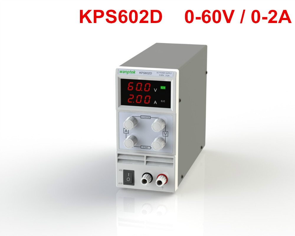 KPS602D Adjustable High precision double LED display switch DC Power Supply protection function 60V2A 110V-230V 0.1V/0.01A EUKPS602D Adjustable High precision double LED display switch DC Power Supply protection function 60V2A 110V-230V 0.1V/0.01A EU