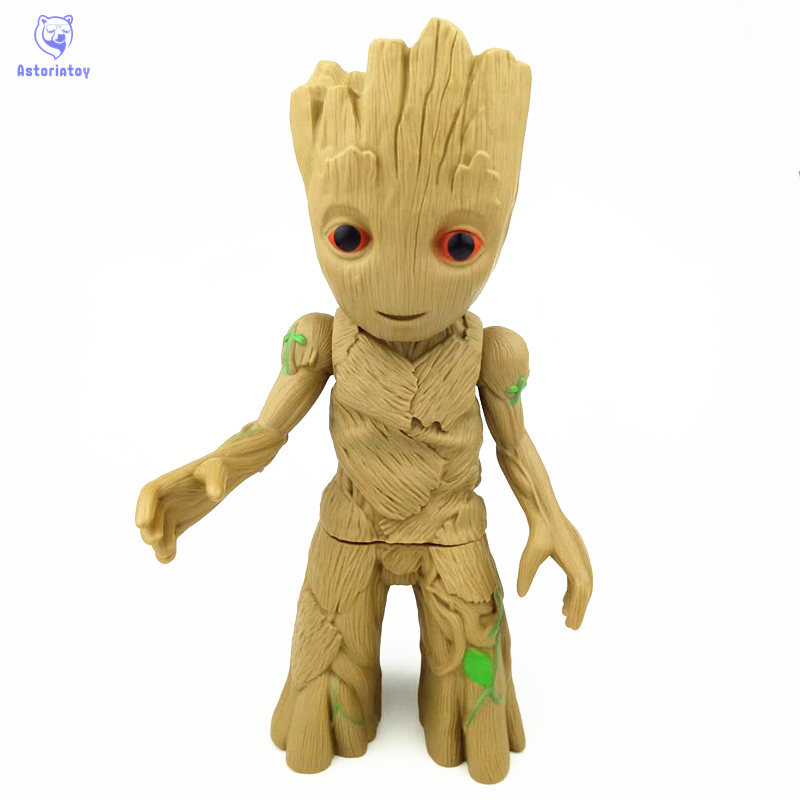 Free Shipping 22cm Tree Man Groot Action Figure Toy PVC Marvel Movie Hero Model Doll Toy Guardians of the Galaxy Boy Gift bix a1005 human skeleton model with heart and vessels model 85cm wbw394