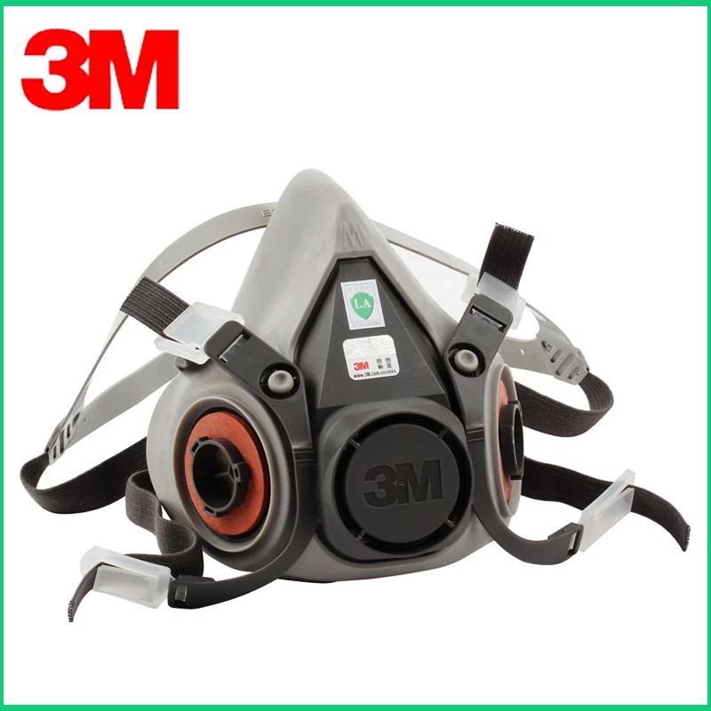 Wholesale <font><b>3M</b></font> 6200 Gas Mask <font><b>6000</b></font> Series Half Facepiece Reusable Respirator image