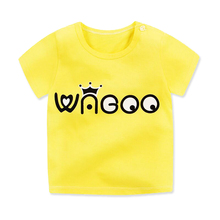 Cartoon Print Baby Boys T Shirt For Summer Kids Boys Girls T-Shirts Clothes Cotton Toddler Tops Toddler Girls Shirts Girls Shirt все цены