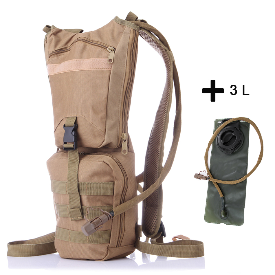 3L Outdoor Sport Water Bladder Bag Waterproof TPU Hydration Backpacks Mountaineering Climbing Hiking Bike Bicycle Water Bag