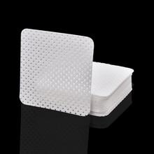 400 Uds. Removedor de uñas toallitas de algodón UV puntas uñas de gel removedor limpiador de pelusas de papel almohadilla para decoración de uñas Herramientas de limpieza de manicura