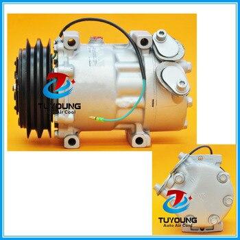 SD7H15 Araba klima kompresörü SCANIA kamyonlar için 24 V 4 mevsim 67185 68185 1376999 1412264 SD7981 SD7848 SD8068