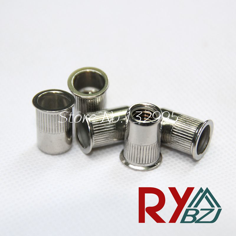 M3 M4 M5 M6 M8 M10 Stainless Steel Rivet Nut Small head Insert nut /SUS 304 Blind rivet nut / Reduce Head Rivet Nut SSRH002