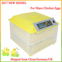 96 Eggs Incubator Chickens Ducks And Other Poultry Egg Incubator Automatic Turning Waterfowl Incubation Equipment