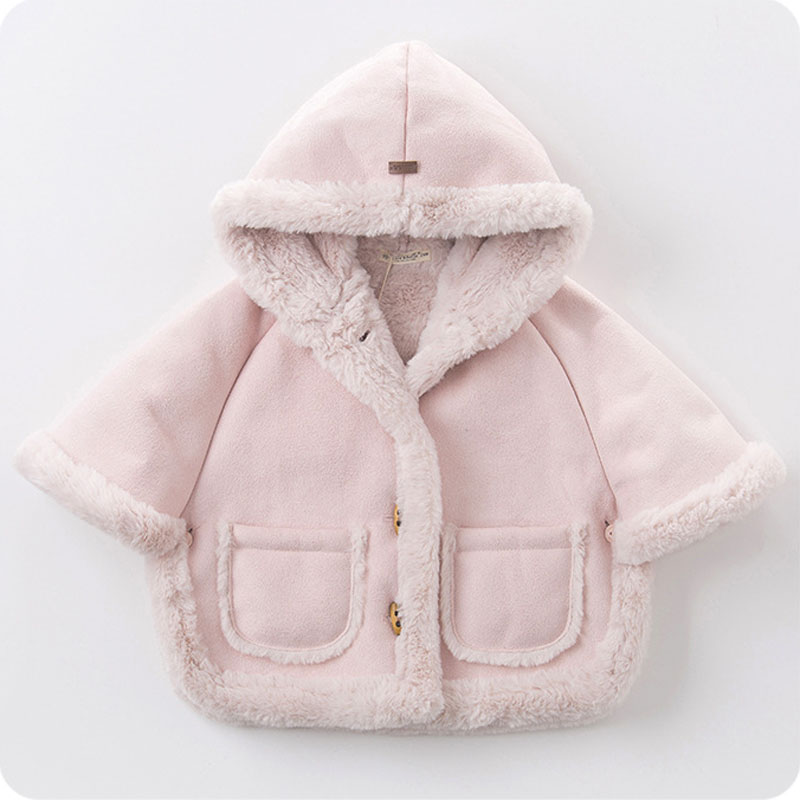 Newest Winter Girls Jackets Faux Fur Warm Toddler Girls Coats Soft Warm Thicken Children Clothing Girl Outerwear Kids Clothes цена