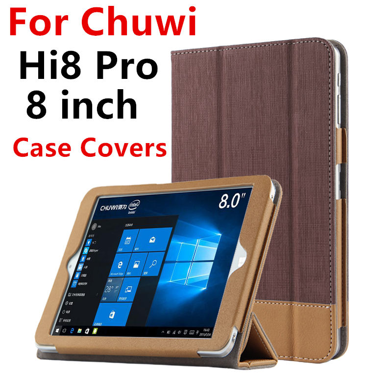 Case PU For Chuwi Hi8 Pro Protective Smart cover Protector Leather Tablet PC For CHUWI hi8pro H i 8 Sleeve 8 inch Cases Covers