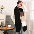 Scarf Lady Warm Brand Imitation Cashmere Scarf Female Luxury Winter Scarf Shawl Women Long Scarf