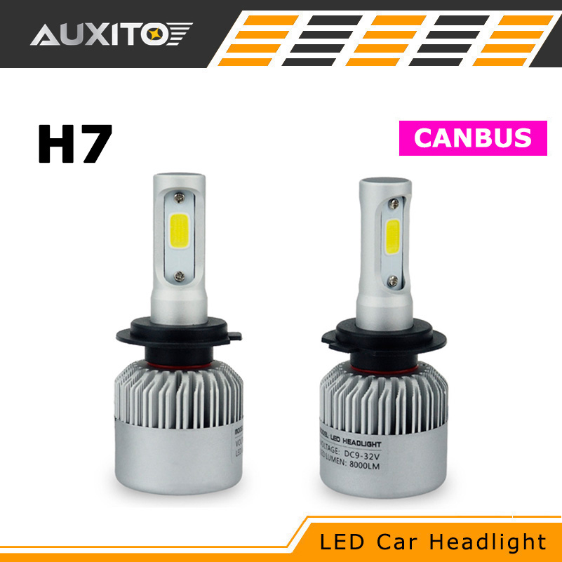 For BMW Ford VW Mercedes Kia Mazda Hyundai Suzuki Volvo H7 LED Headlights Canbus 16000LM Car Headlamp Fog Bulb Auto Front Light