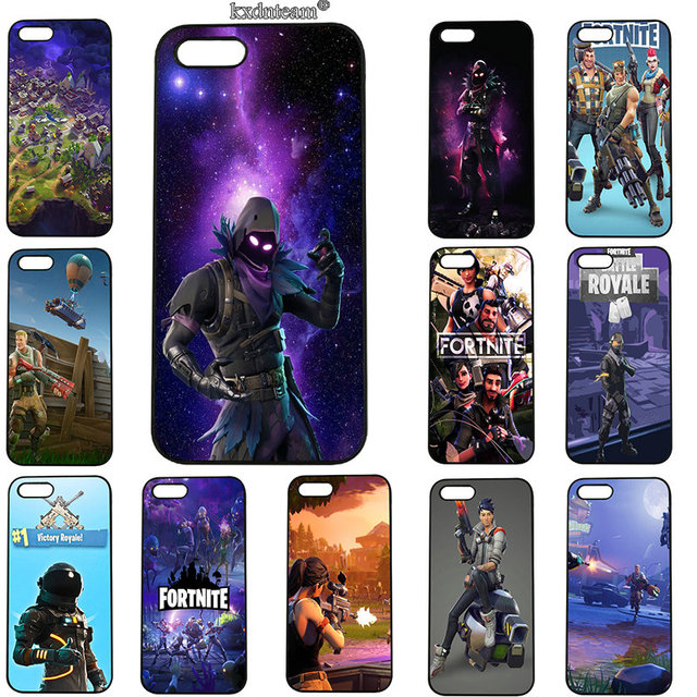 new concept b33a1 416bb US $4.89 |Mobile Phone Cases Hard PC Plastic Cover for iphone 8 7 6 6S Plus  X 5S 5C 5 SE 4 4S iPod Touch 5 6 Shell Battle Royale Fortnite-in ...