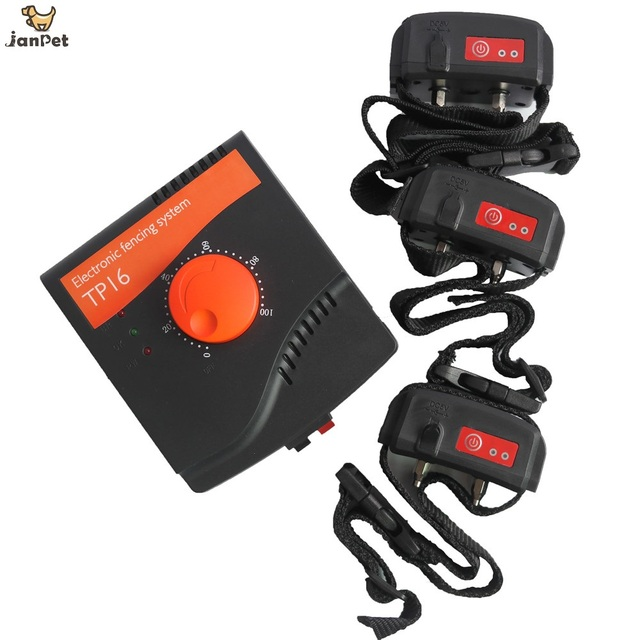 janpet perfect pet containment system electronic dog fencing system inground shock collar up to