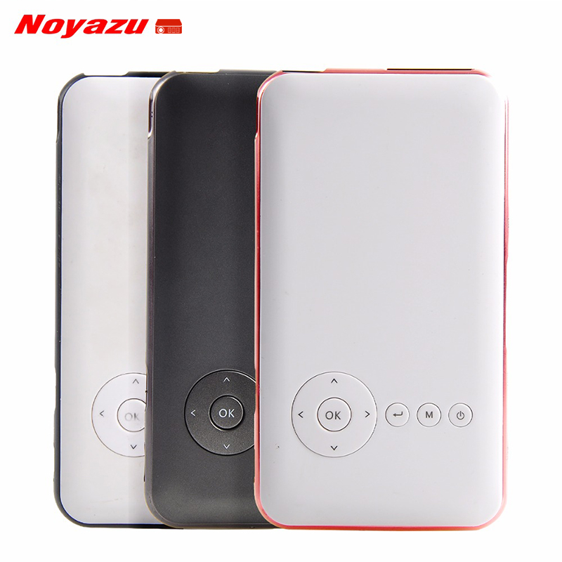 Noyazu 5000 mah battery mini pocket projector dlp wifi for Pocket projector dlp