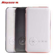 Noyazu 5000 mah Batterie Mini projecteur de poche dlp wifi portable De Poche smartphone Projecteur Android Bluetooth poche beamer