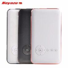 Noyazu 5000 mah Batería Mini pocket proyector dlp Proyector Android Bluetooth wifi teléfono inteligente portátil proyector de bolsillo