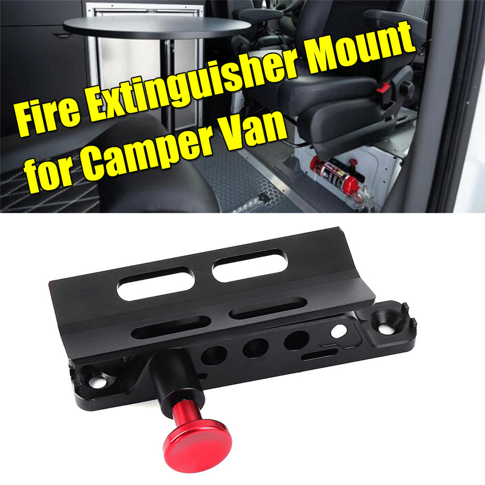 UTV Fire Extinguisher Mount Roll proof Rack Installation Kit for Camper van for Polaris RZR Jeep