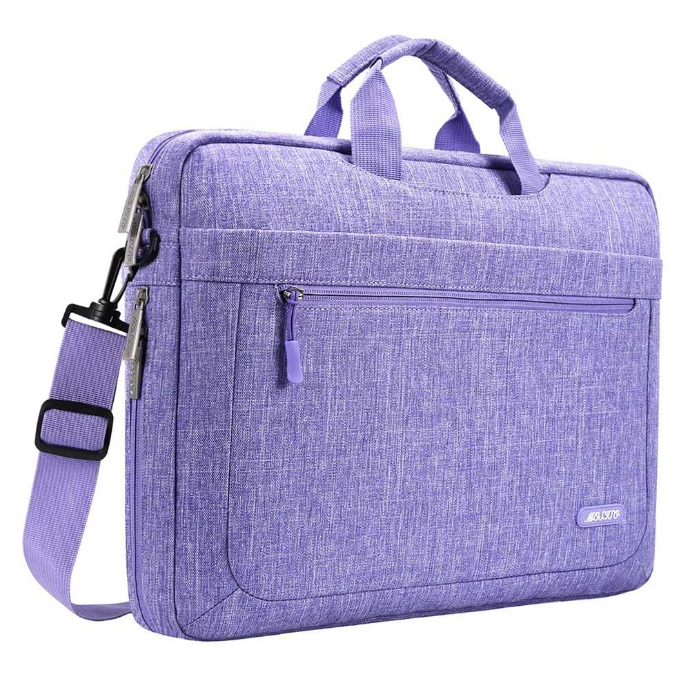 MOSISO sacoche à bandoulière pour ordinateur portable pour Macbook 17 17.3 pouces HP/Lenovo/Acer/Asus/Dell sacoche en Polyester pour ordinateur portable homme femme