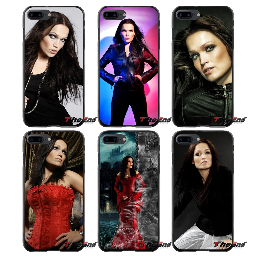 Accessories Phone Cases Covers For Apple iPhone 4 4S 5 5S 5C SE 6 6S 7 8 Plus X iPod Touch 4 5 6 Music Tarja