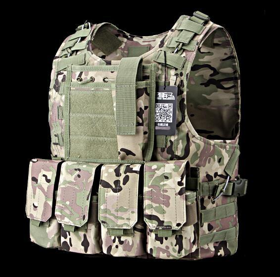Gilet tactique Multicam gilet pare-balles militaire Colete a prova de bala ACU multicam boisé camouflage