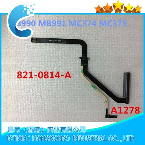 Original A1278 HDD Hard Drvie Cable For Mac Book pro 13 13.3 MB990 MB991 MC374 MC375 821-0814-A 2009 2010 akita